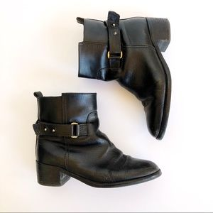 J. Crew leather ankle boot
